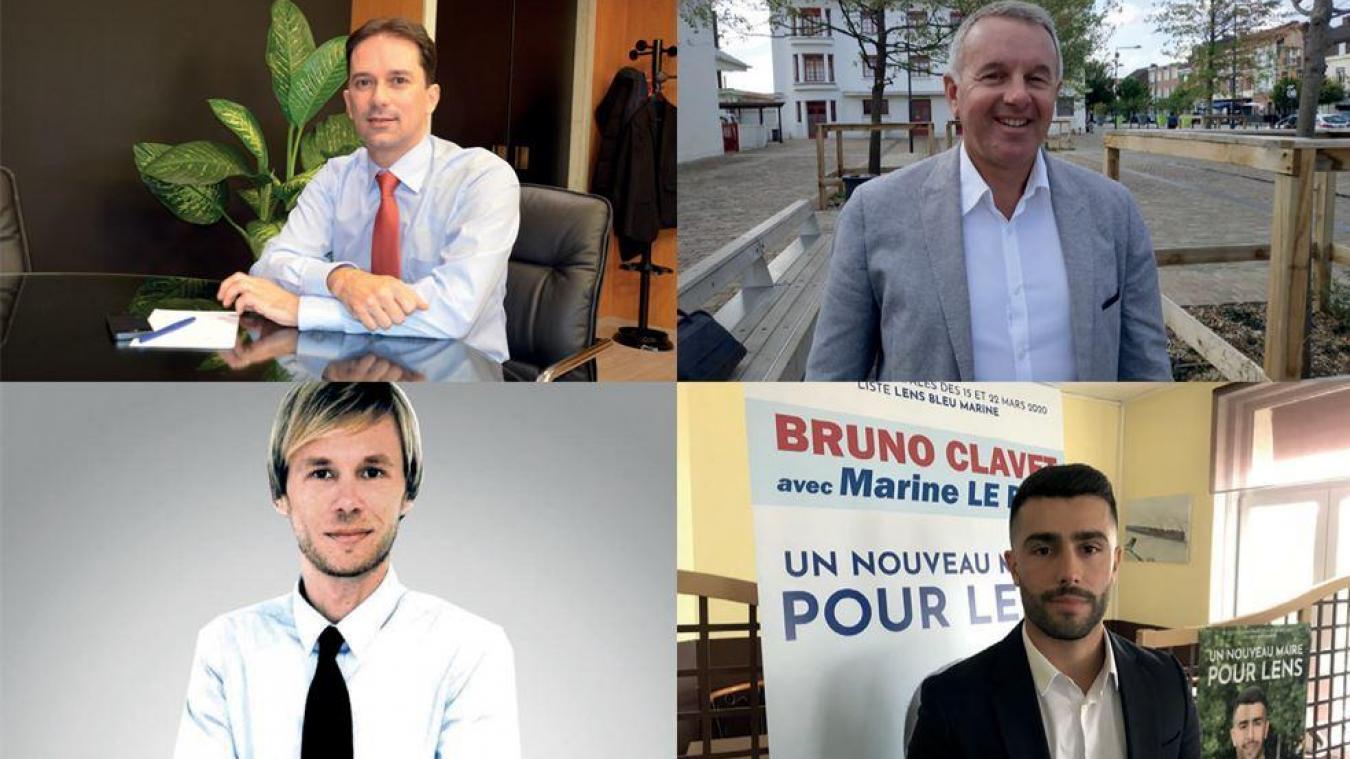 Lens : quatre prétendants au siège de maire?