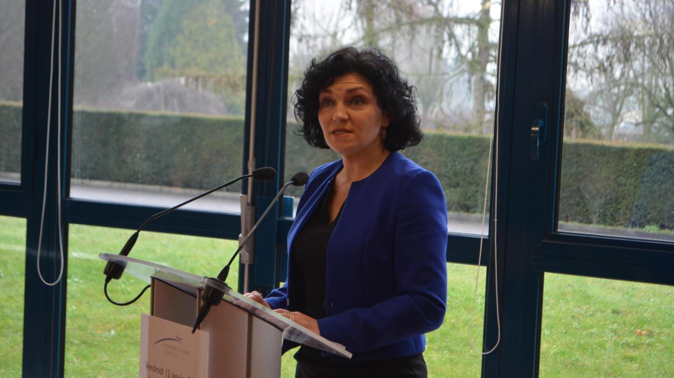 Valérie Bénéat-Marlier espérait depuis quelques années déjà obtenir cette labellisaton Unité d'hébergement renforcé.  photo archives