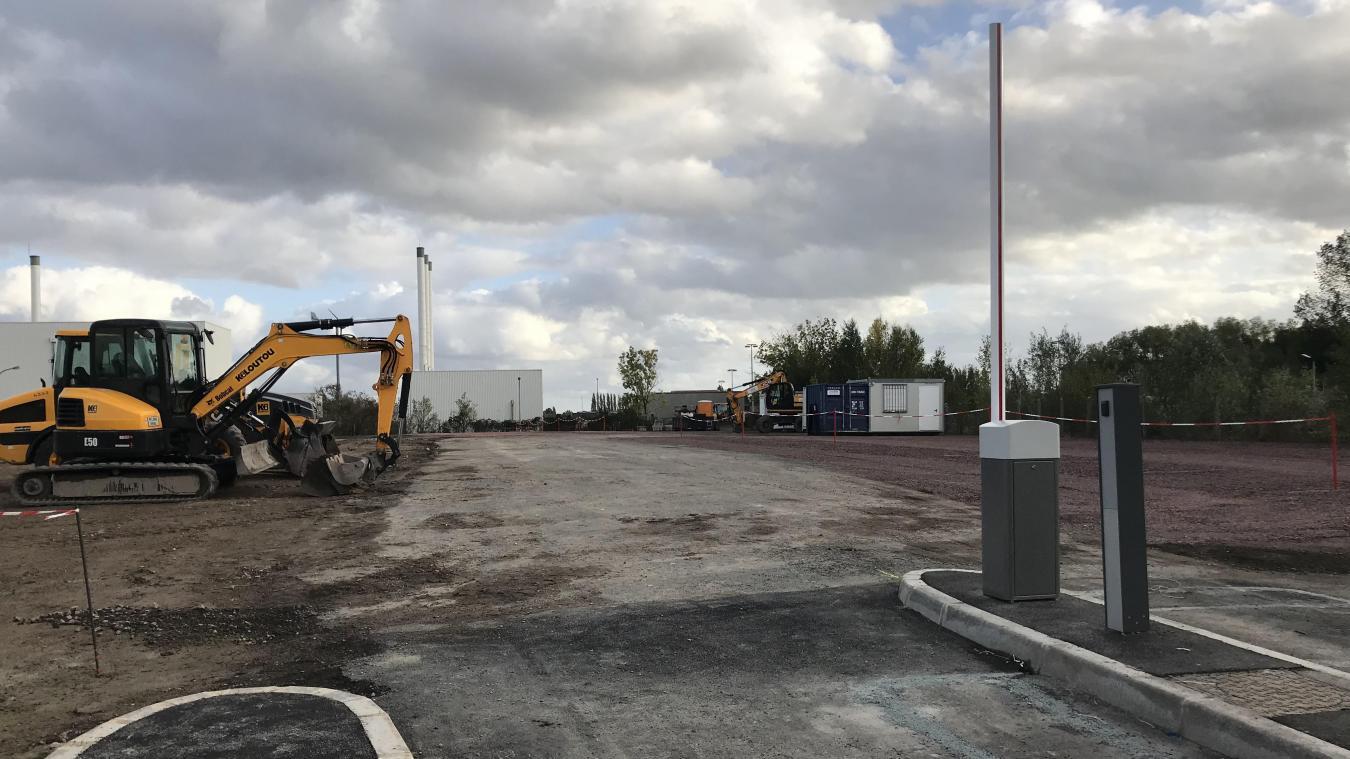Ce nouveau parking se situe dans la rue du Fer à cheval, près de La Poste espace Pro.