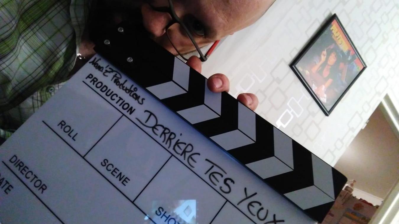 Davide Vinagre vient de finir le montage de son court-métrage  Derrière tes yeux .