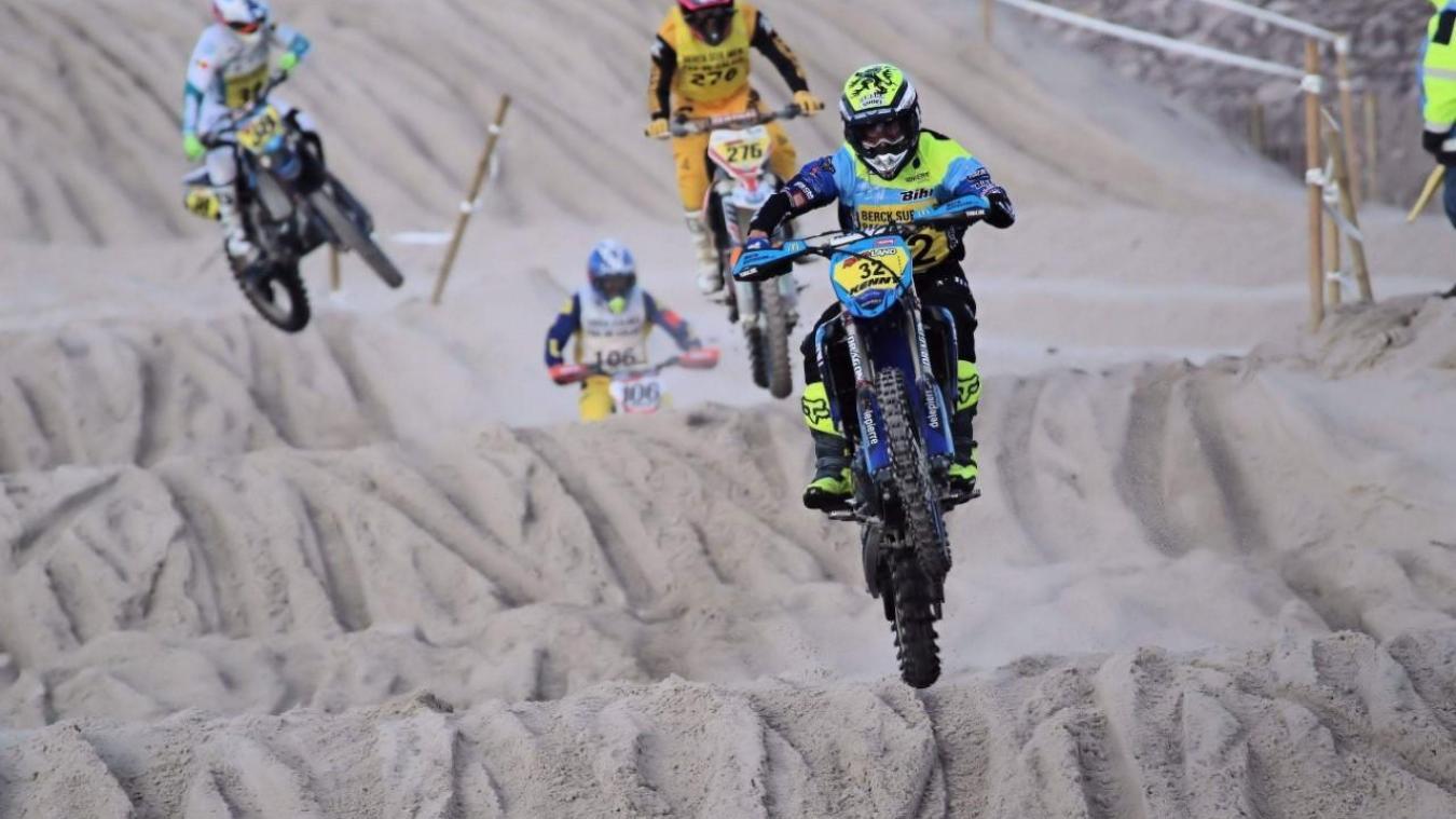 Milko Potisek a remporté la première manche du groupe B, ce samedi 19 octobre sur le sable berckois.