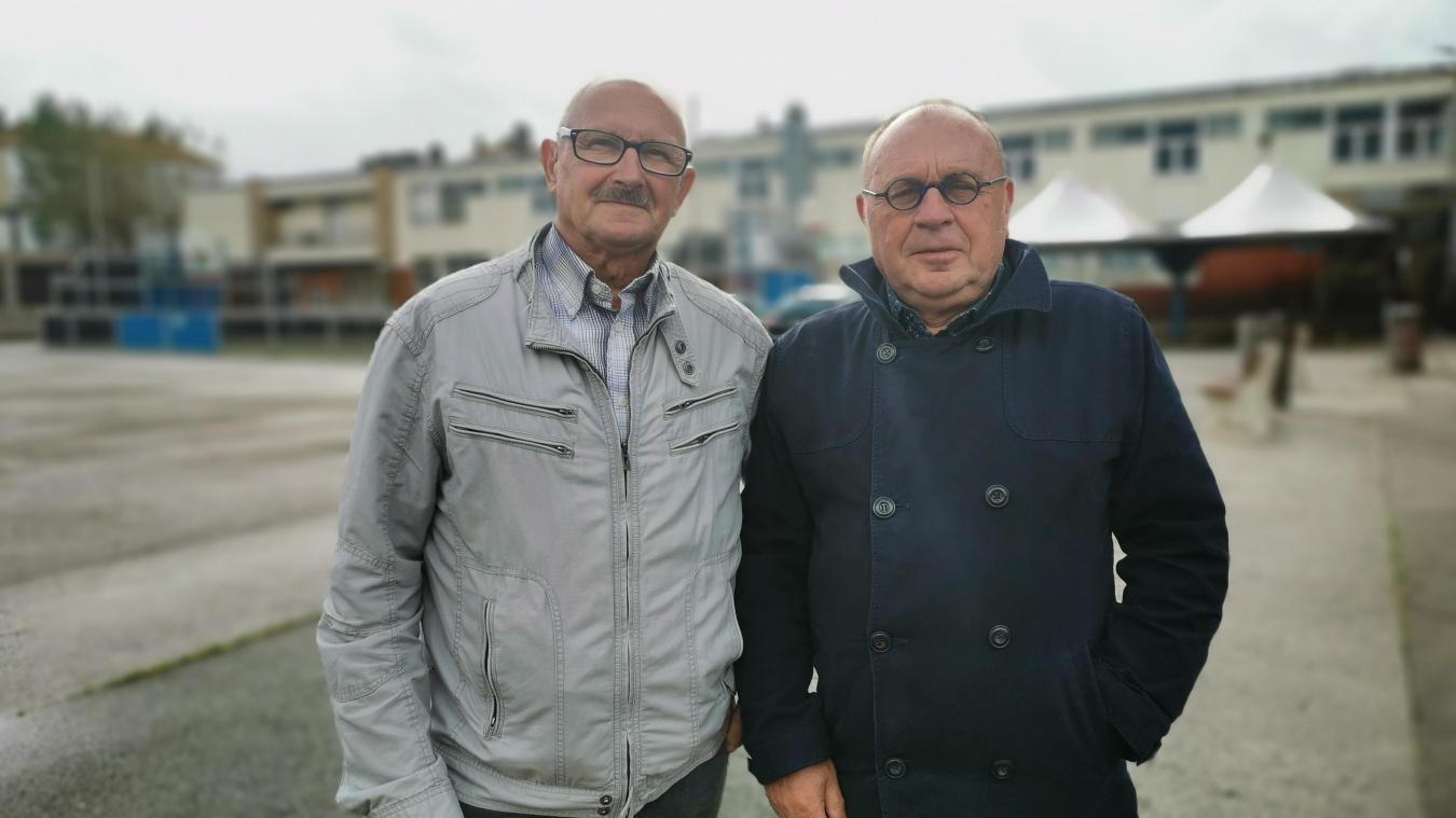 Michel Leblond (promotion 1960-1961) et Charles Fontaine (1959-1960), sont des enfants du lycée maritime.