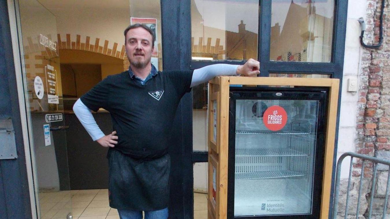 Aire-sur-la-Lys : Pourquoi le frigo solidaire ne marche pas?