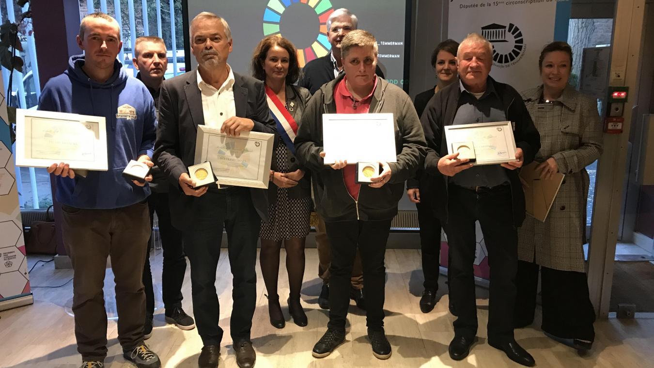 Quatre initiatives flamandes récompensées par la députée Jennifer de Temmerman