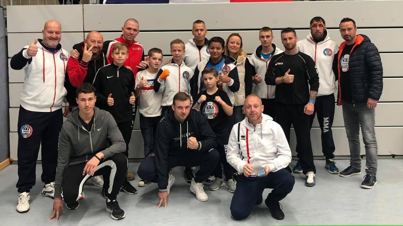 Le club boulonnais MMA Pancrace Académie a représenté les couleurs du Boulonnais lors du tournoi mondial en Allemagne.