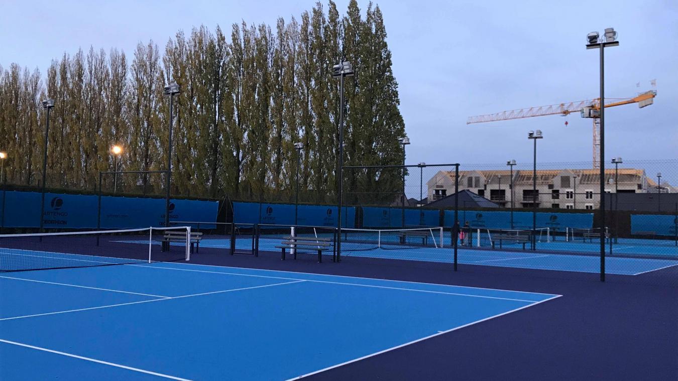 Terrains de tennis et éclairage comme neuf ne font pas l'unanimité à Hazebrouck.