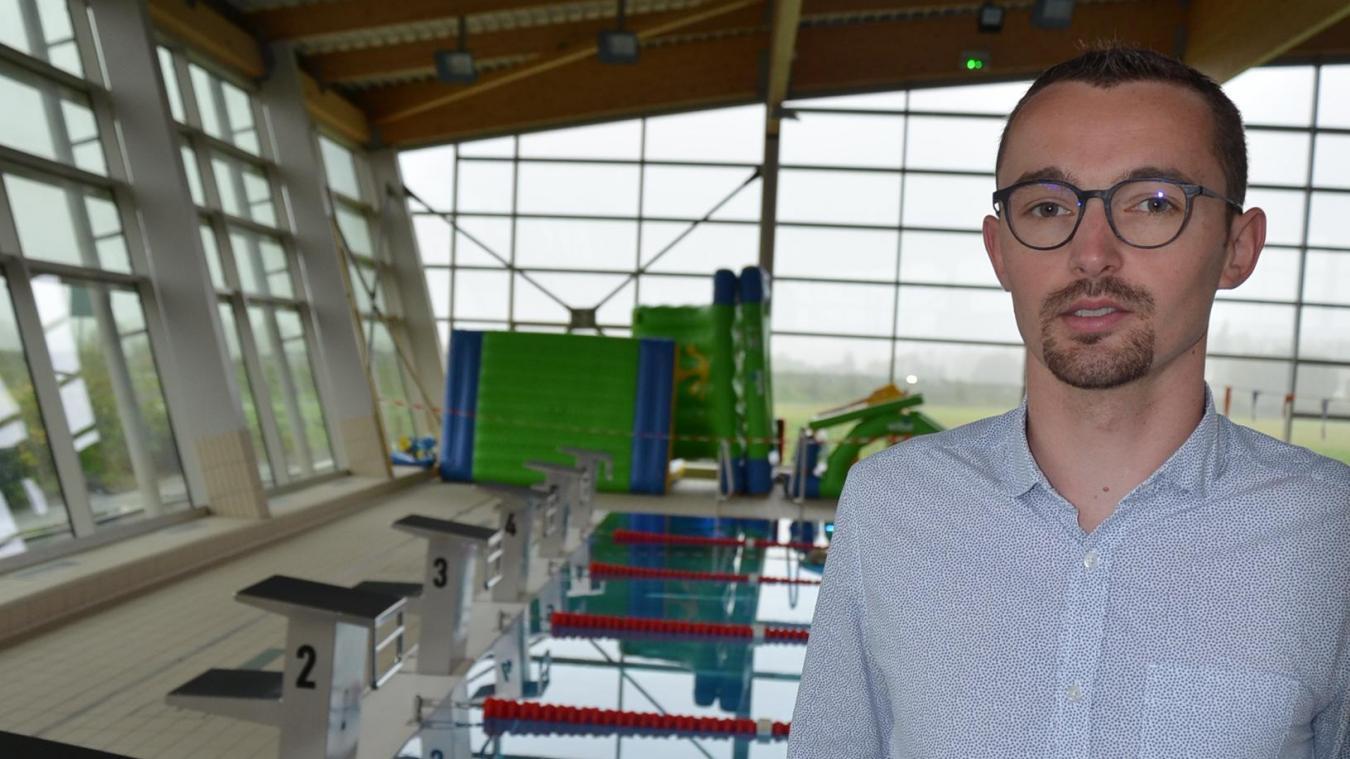 Bertrand Wasselin, directeur du site Aqualys d'Aire-sur-la-Lys, intégré au groupe Vert Marine. Aux manettes depuis l'ouverture, et la mise en place.