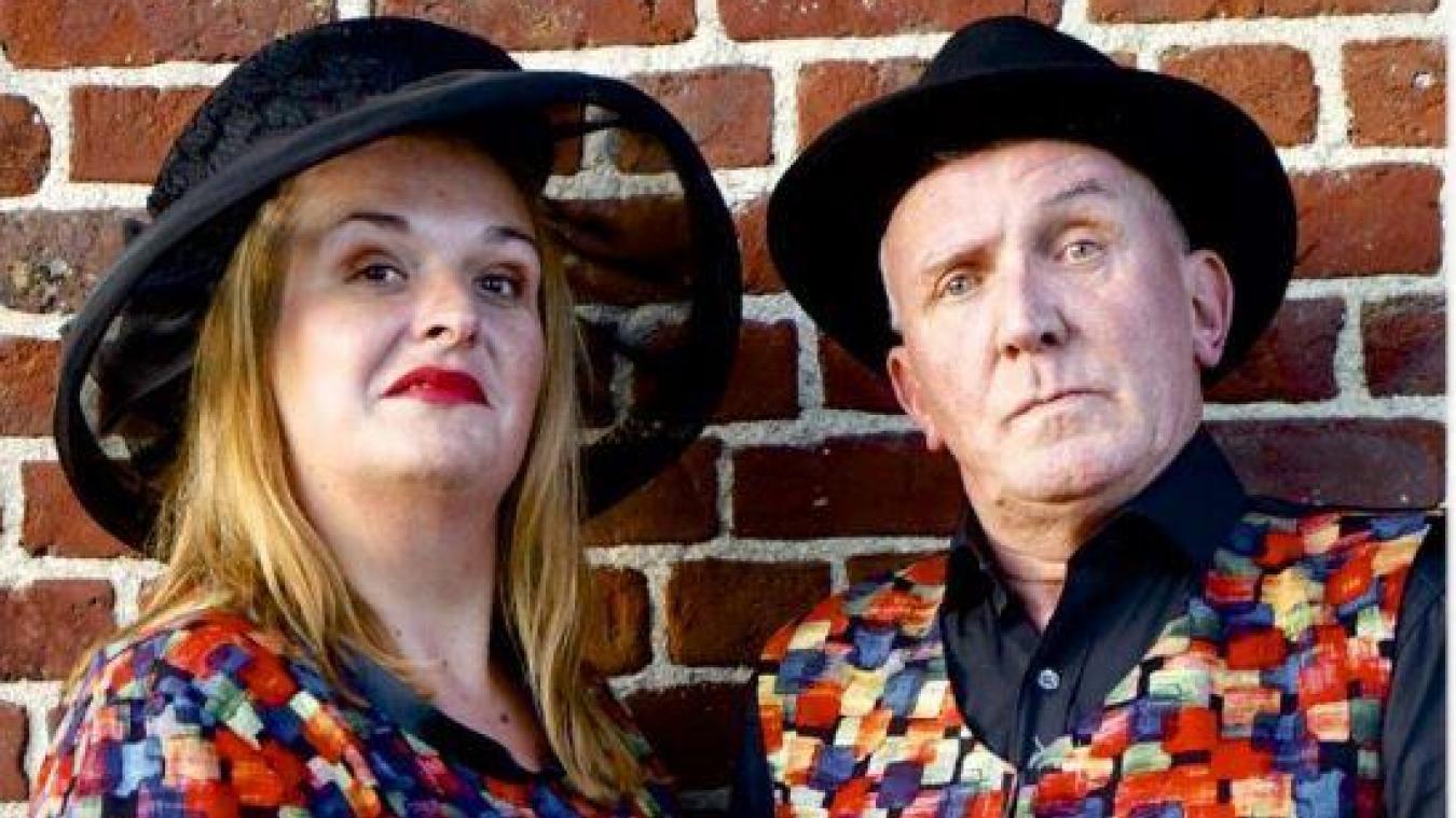 L'Houtkerquoise Camille Elleboudt et Jacques Philipson, auteur, comédien et metteur en scène, sont sur scène pour deux représentations de leur fantaisie drolatique.