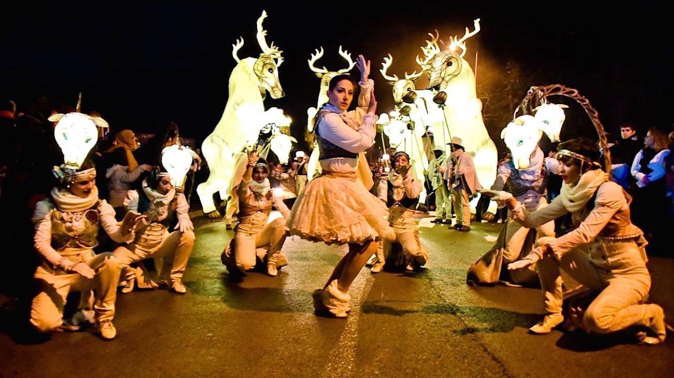 Le 26 octobre, découvrez une parade lumineuse féerique, digne de Disneyland.