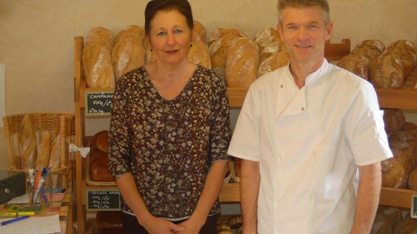 Bruno et Claudine ont fait du pain leur quotidien. Un pain de qualité qui se commande la veille pour le lendemain.