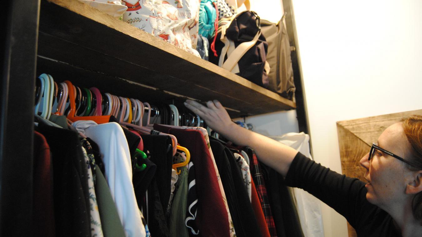 Laetitia Diot considère que les travaux de son dressing ont été mal réalisés.