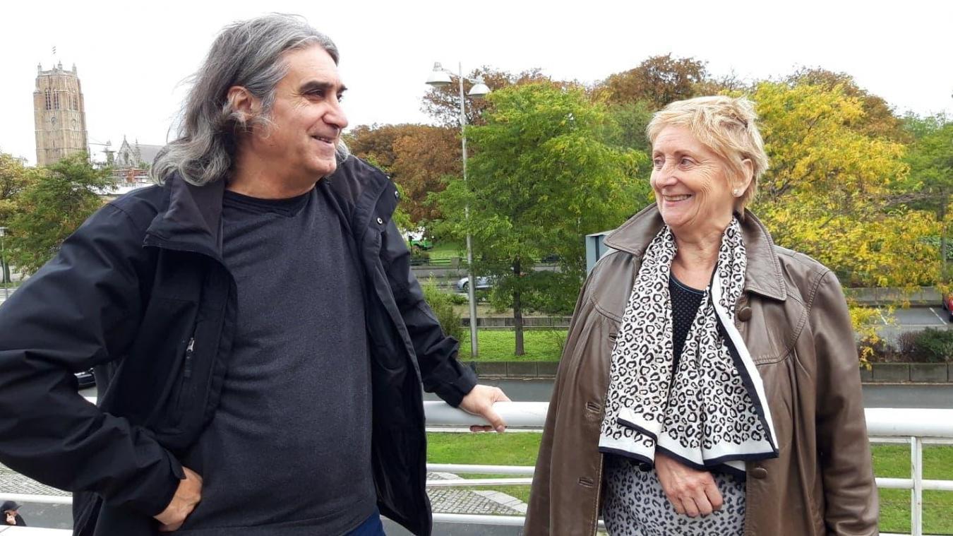 Les chefs de file de Dunkerque, Jean-Louis Gadea et Maria Zonnequin, appellent les citoyens à participer aux débats sur leur page Facebook.