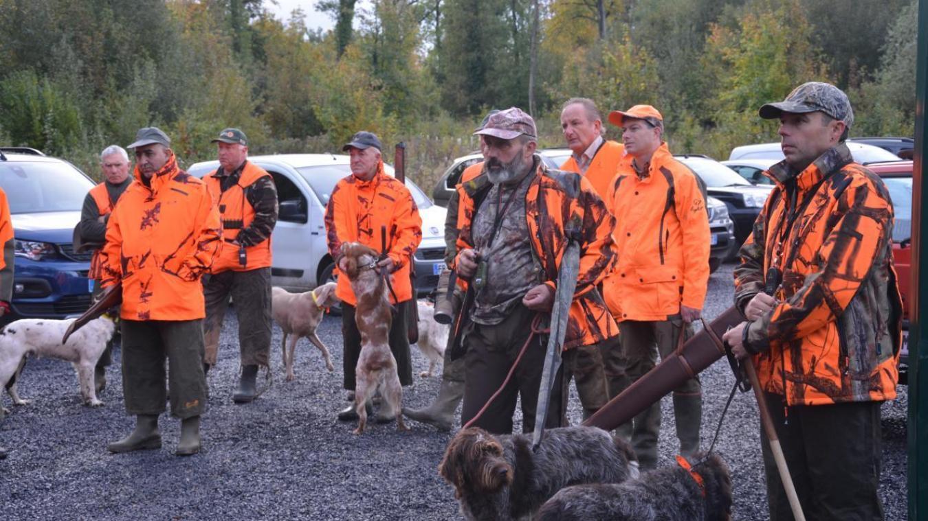 La chasse au bois d'Olhain est ouverte depuis el 19 octobre.