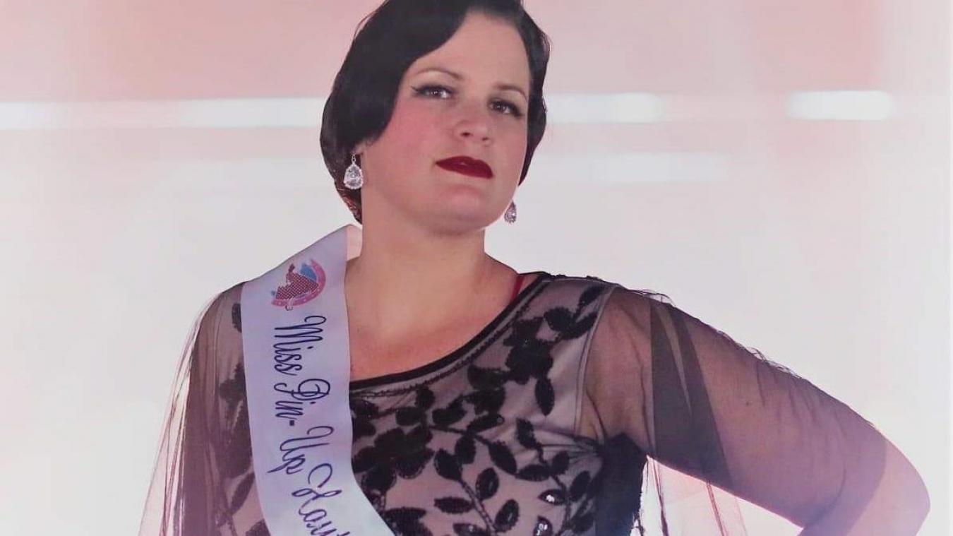 Vitry-en-Artois : Lady Titi Chocolate au concours de Miss pin-up France