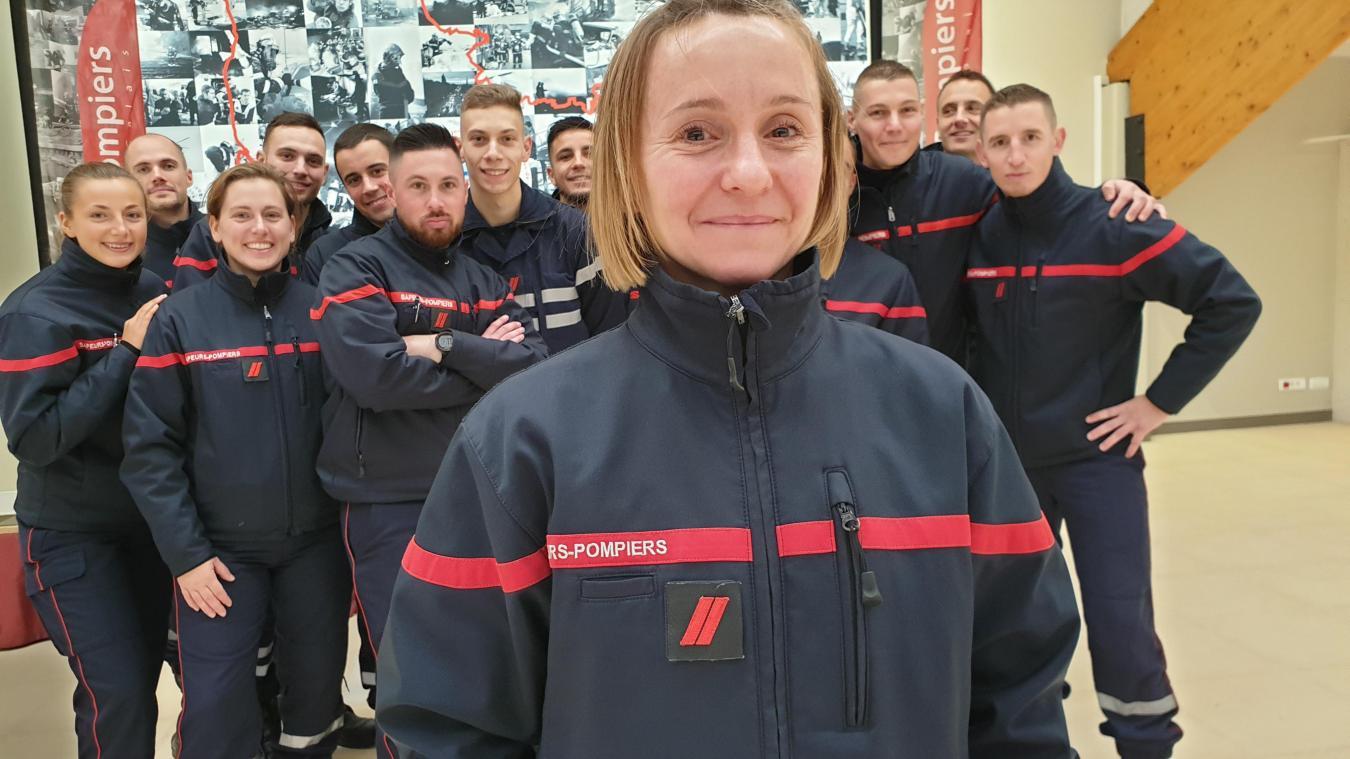 Vitry-en-Artois : À 40 ans, pourquoi Gaëlle devient sapeur-pompier