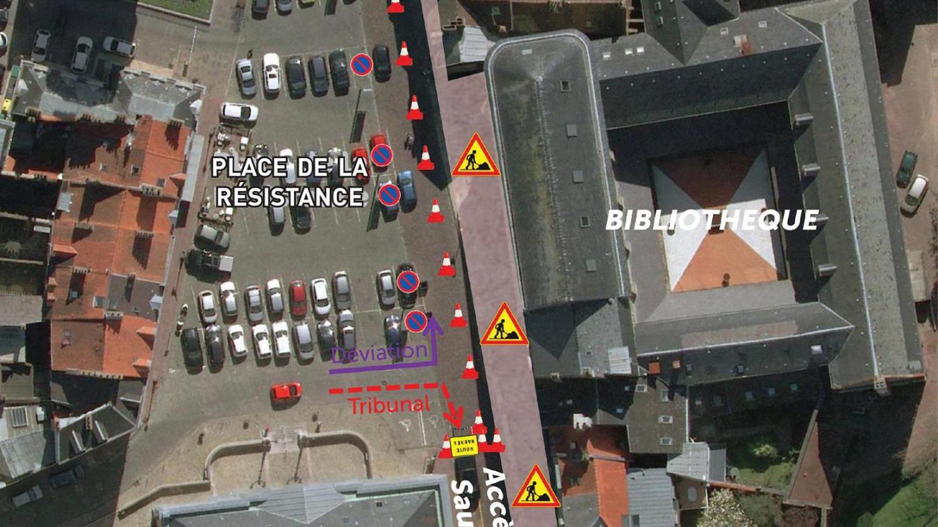 Boulogne : des travaux jusqu'en décembre entre la Porte des Dunes et la place Godefroy de Bouillon