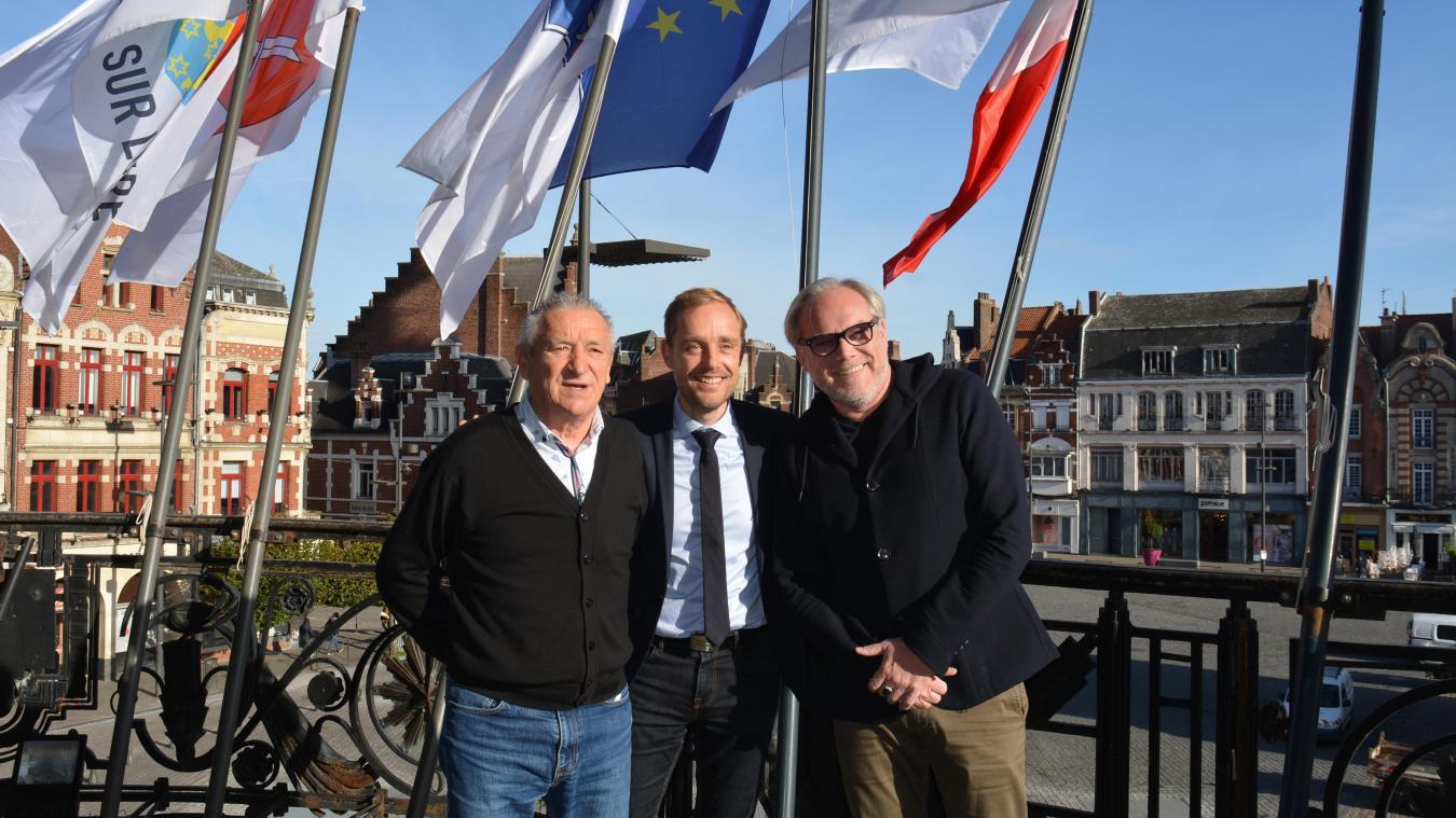 Zoran Jevtovic (à gauche) entrera au conseil à la suite de la démission de Christophe Leclercq (à droite).