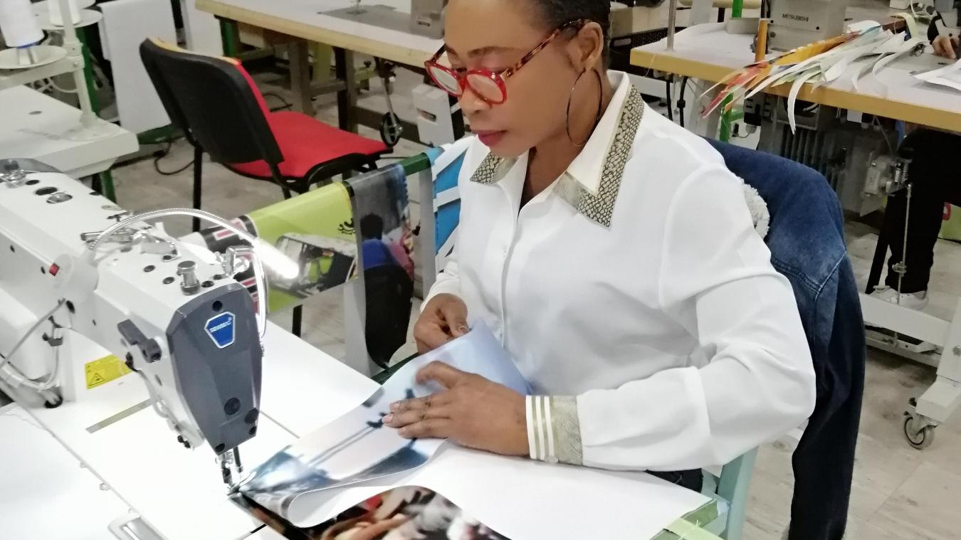 Marie Lawson travaille pour Tisse 1 Lien depuis quatre mois.