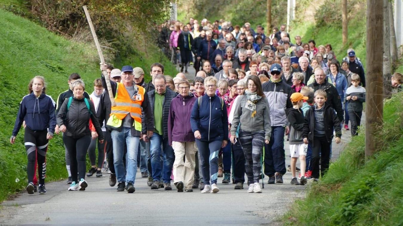 C'était la Marche des Chapelles à Roquetoire