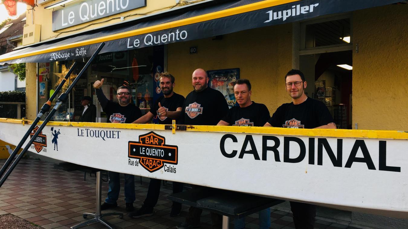 L'équipage sera soutenu par l'établissement Le Quento, au Touquet-Paris-Plage.