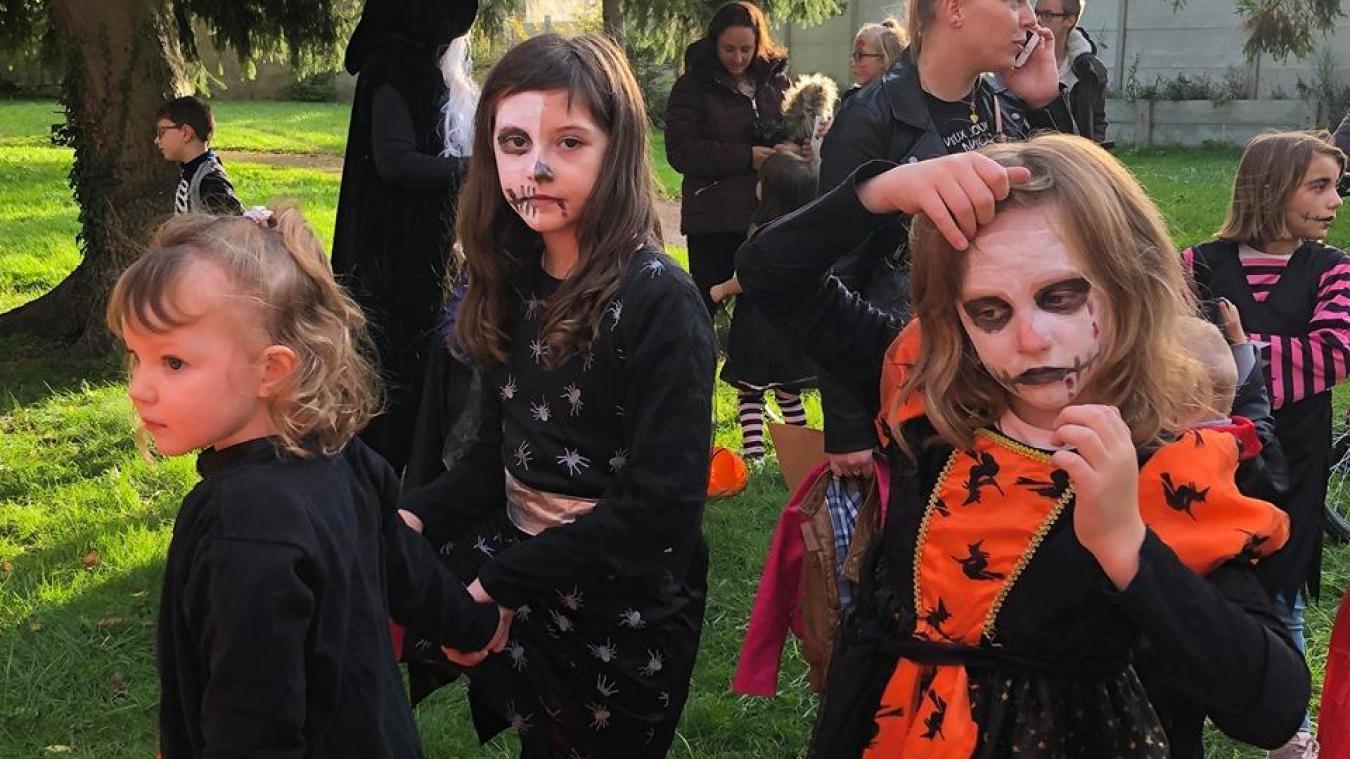 Des créatures effrayantes à Merville (photos)