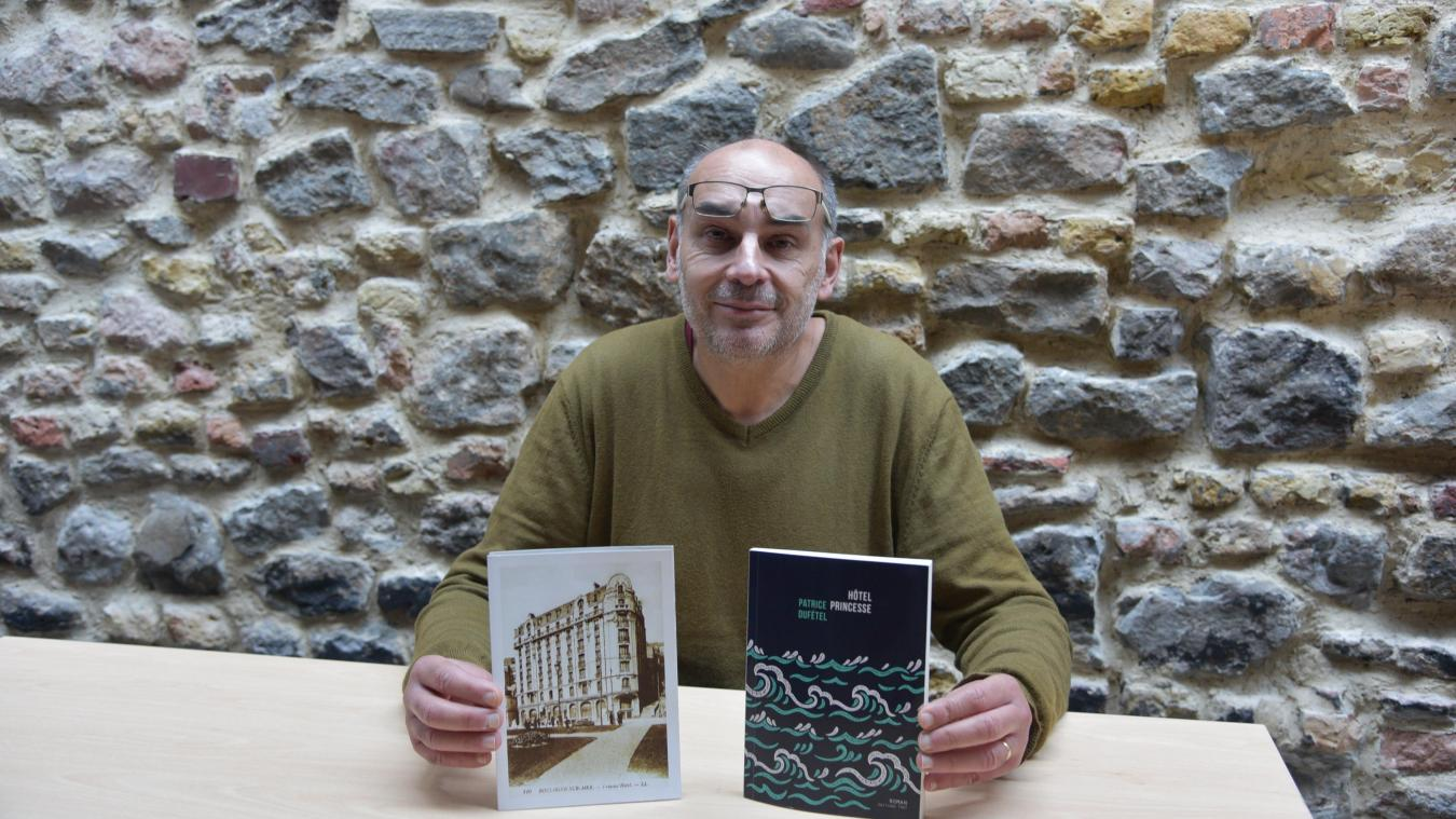Patrice Dufétel a été inspiré par les Soleils boulonnais, un groupe folklorique, pour écrire Hôtel princesse. Après un an de rédaction, son roman est sorti en début d'année.