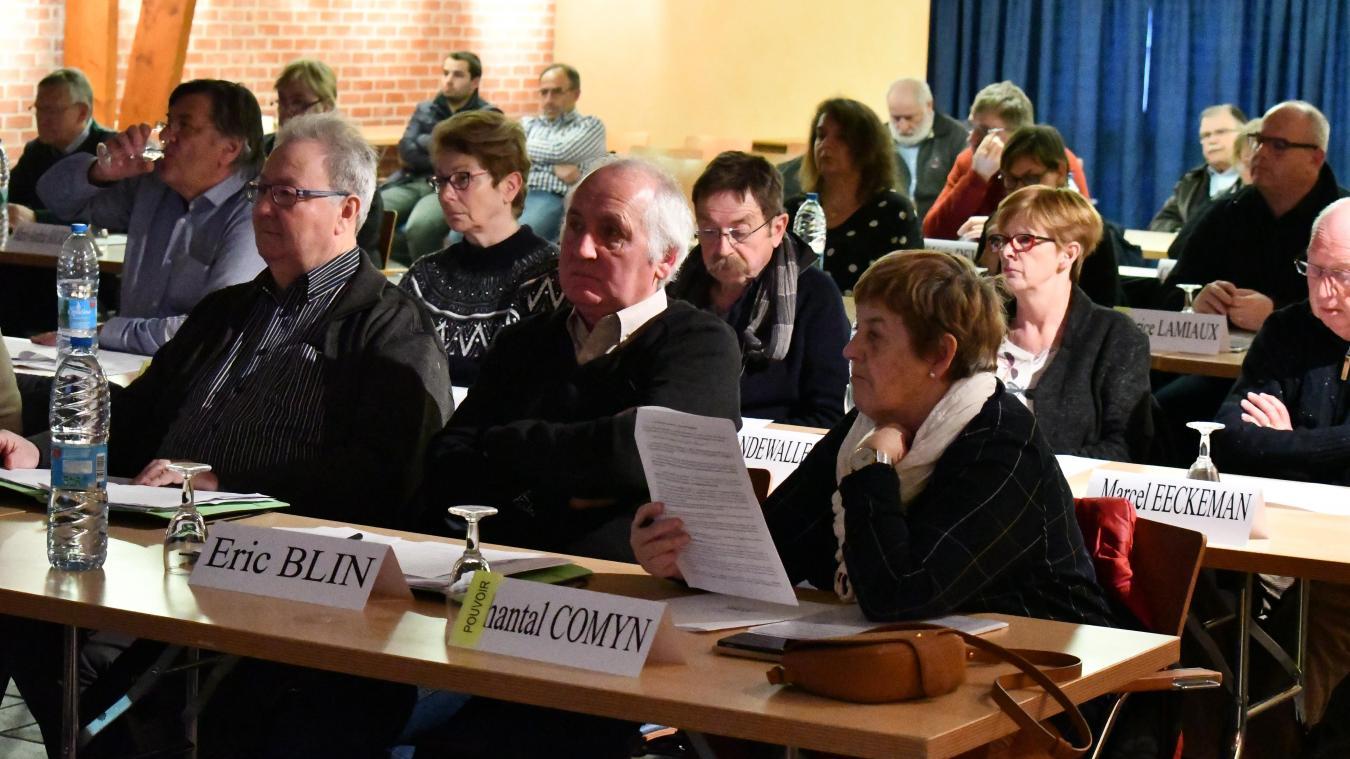 Les élus de la Communauté de communes des Hauts de Flandres sont revenus sur le dossier du Plan local d'urbanisme intercommunal.