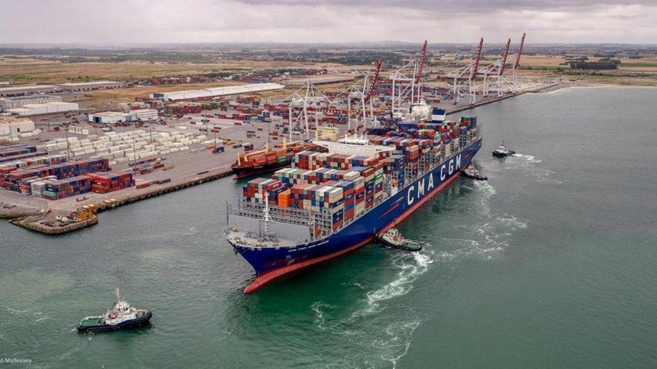 Le port de Dunkerque.