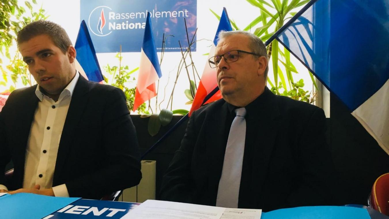 La liste du Rassemblement national, à Étaples-sur-Mer, sera conduite par Xavier Brassart.