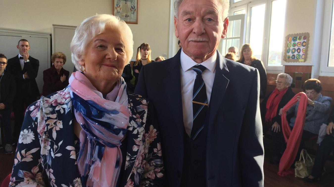 Émilien Vasseur et Alfreda Lisse se sont rencontrés en 1956.