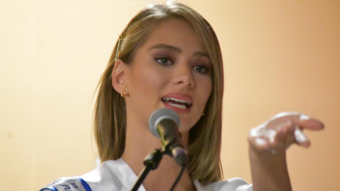 Miss Nord-Pas-de-Calais : Florentine Somers très émue à Loon-Plage