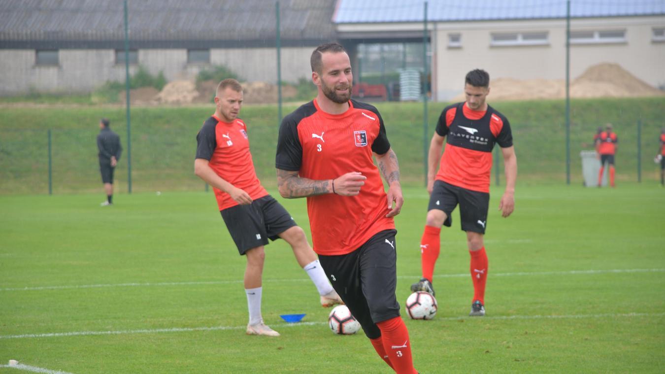 Anthony Scaramozzino n'a pas caché sa joie de jouer contre le RC Lens, son ancien club.