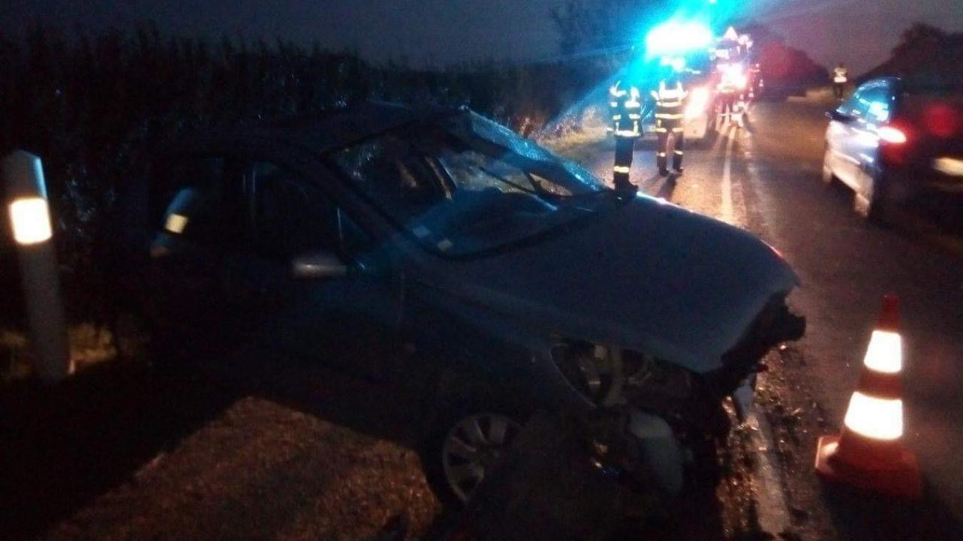 Un automobiliste perd le contrôle de son véhicule à Wissant