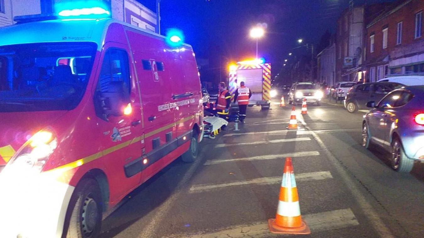 La circulation a été perturbée pendant une petite heure sur le boulevard de Paris ce mercredi 30 octobre en fin d'après midi.