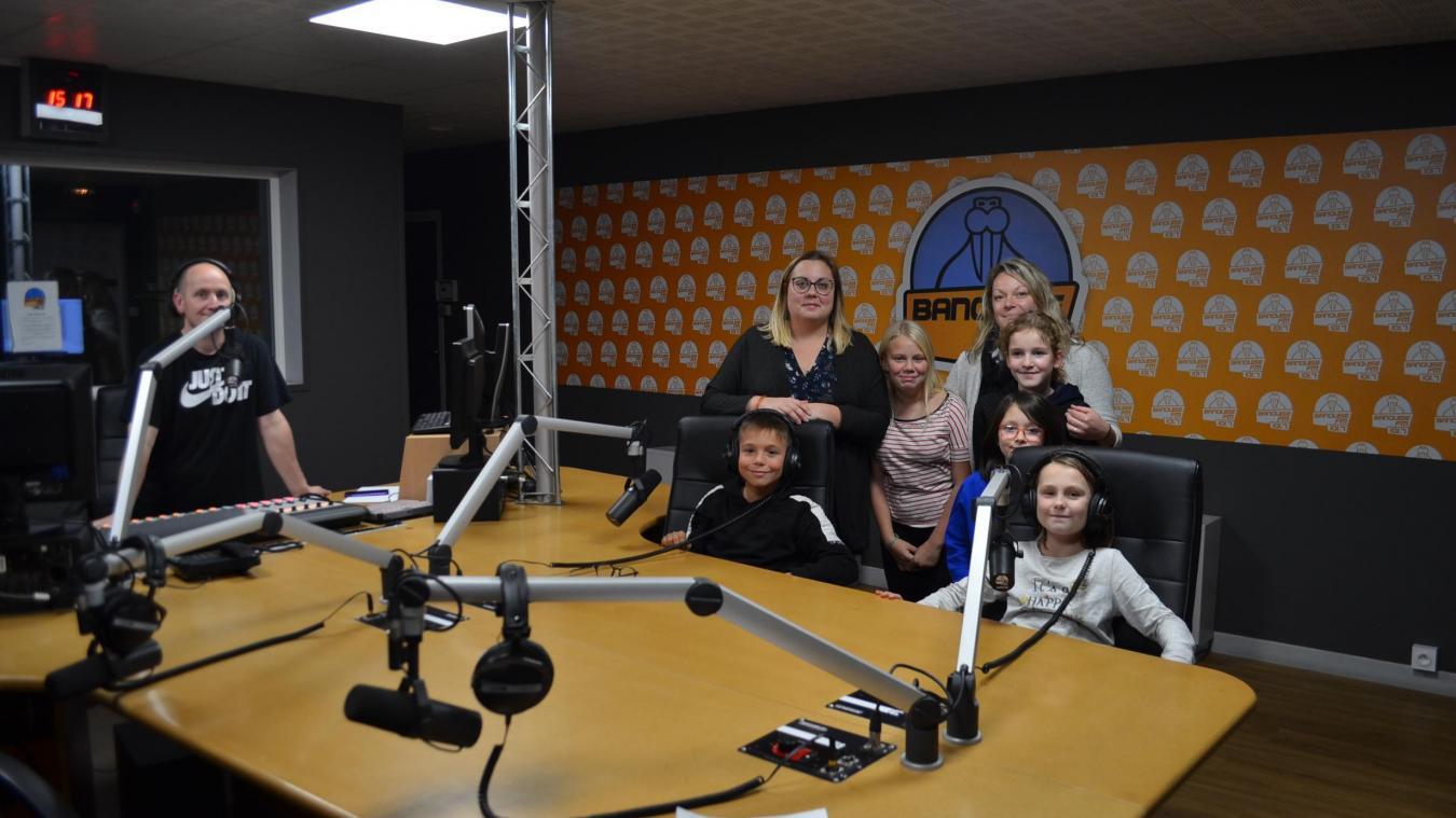 Les jeunes du Programme de réussite éducative de Lillers ont enregistré leurs chroniques lundi et mardi.
