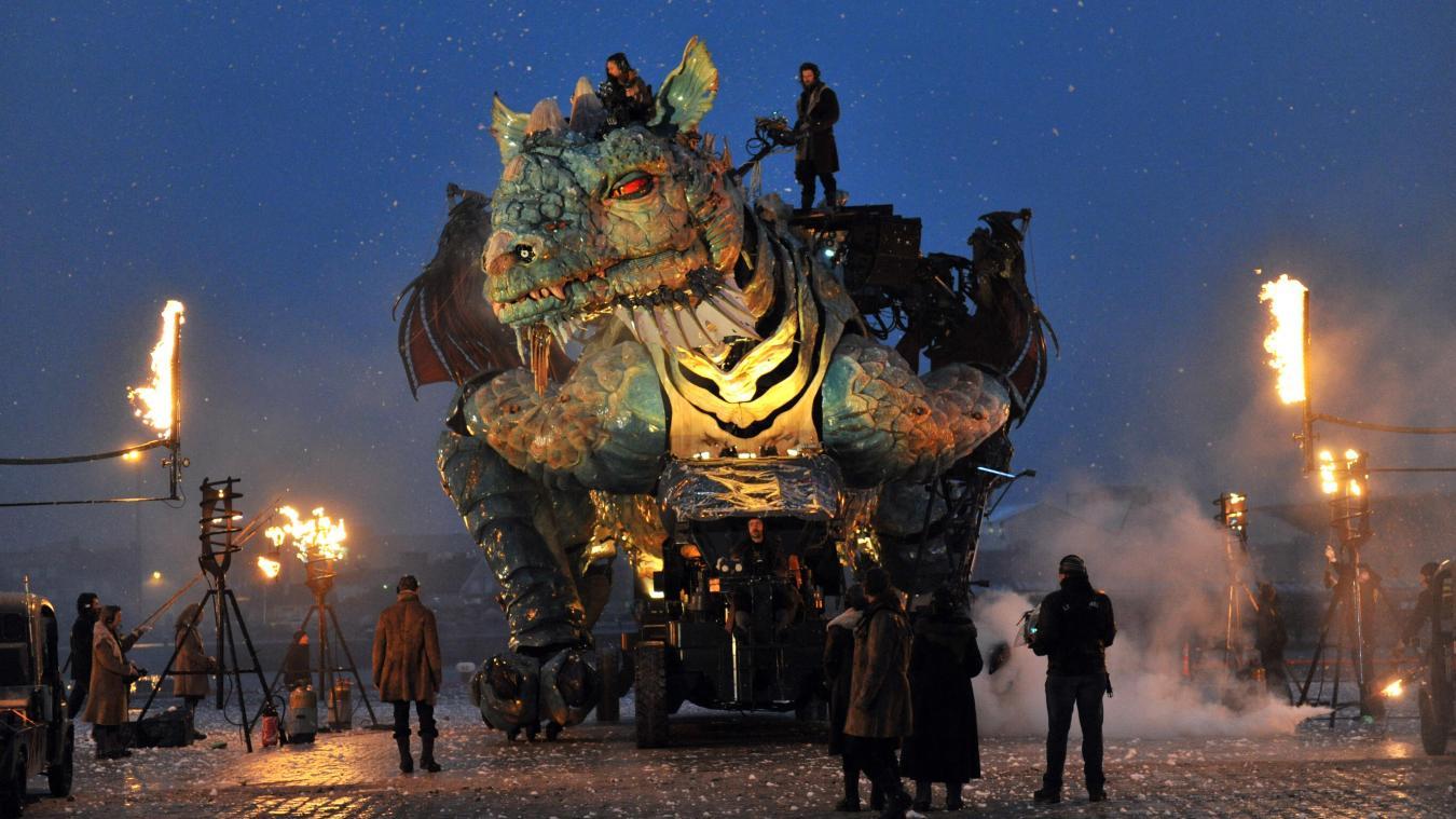 Le Dragon va bientôt s'éveiller à Calais pour trois jours de spectacle