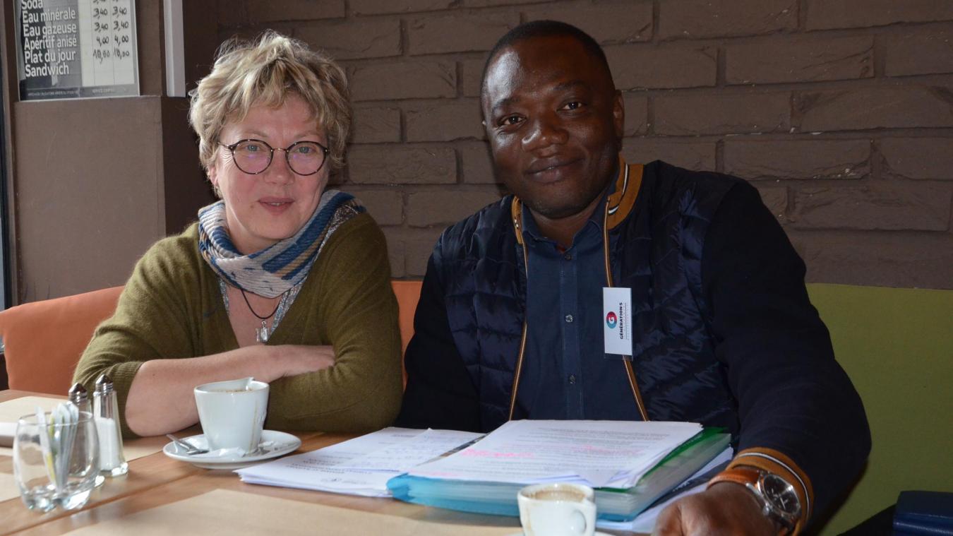 Catherine Lefébure Papyle et Late Lawson, citoyens de l'agglomération boulonnaise, engagés dans le comité local de Génération.s.