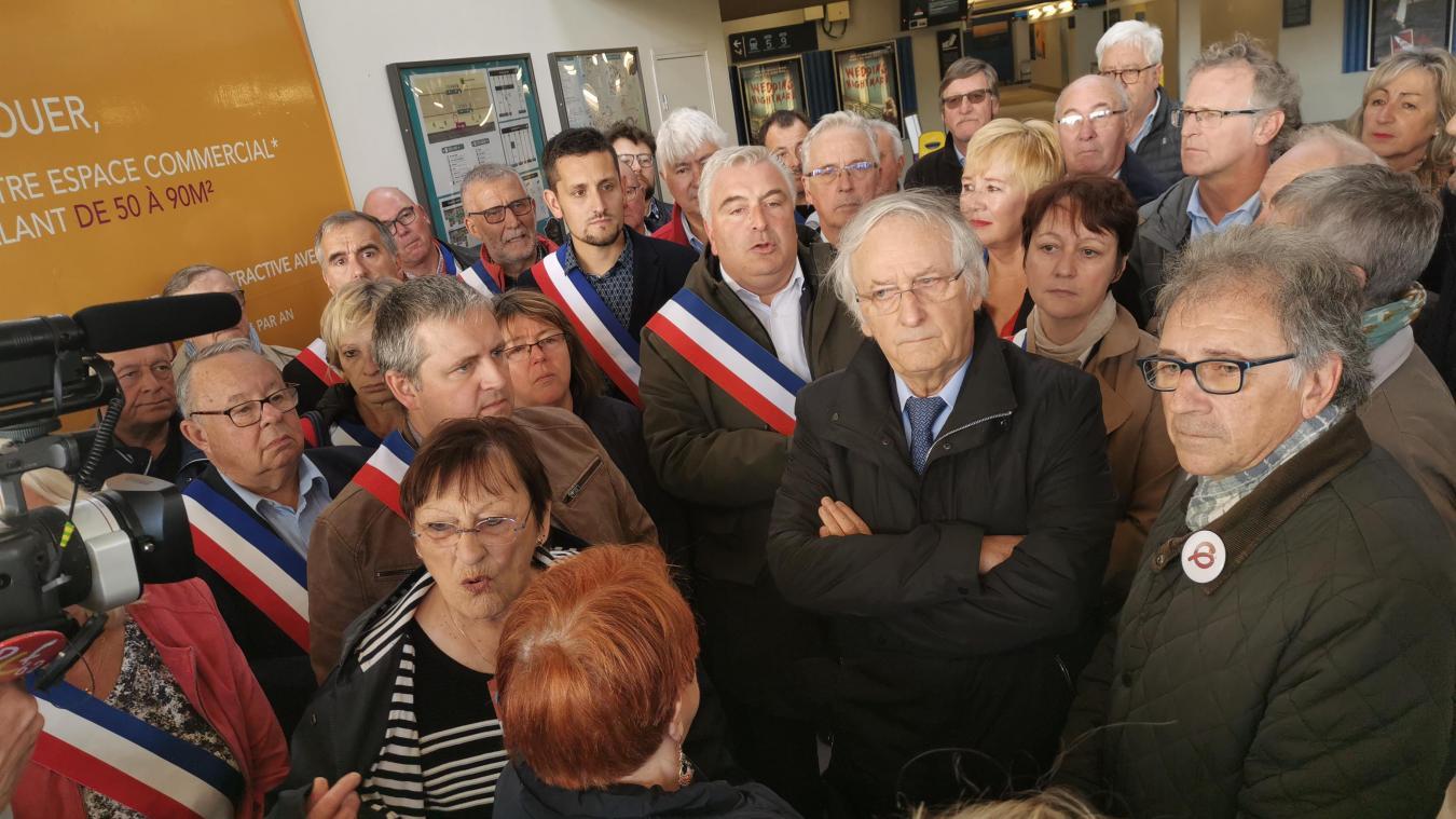 Deux samedis durant, les élus du Boulonnais s'étaient mobilisés en masse en gare de Boulogne-sur-Mer.