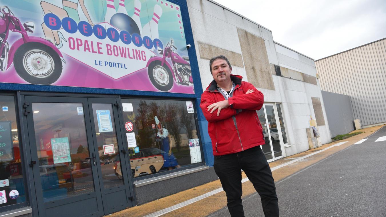 Bertrand Lefebvre va louer le local jouxtant l'Opale Bowling, rue Notre-Dame. Les deux structures offriront ainsi plus de 1 000 m² de divertissement.