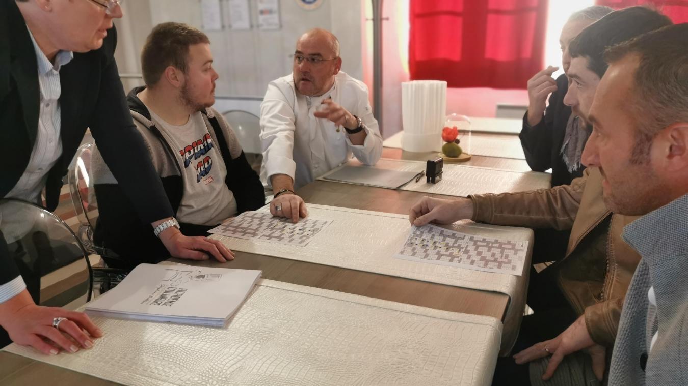 Dix conventions sont passées entre demandeur d'emploi, Pôle emploi, l'Académie culinaire et les restaurants boulonnais.