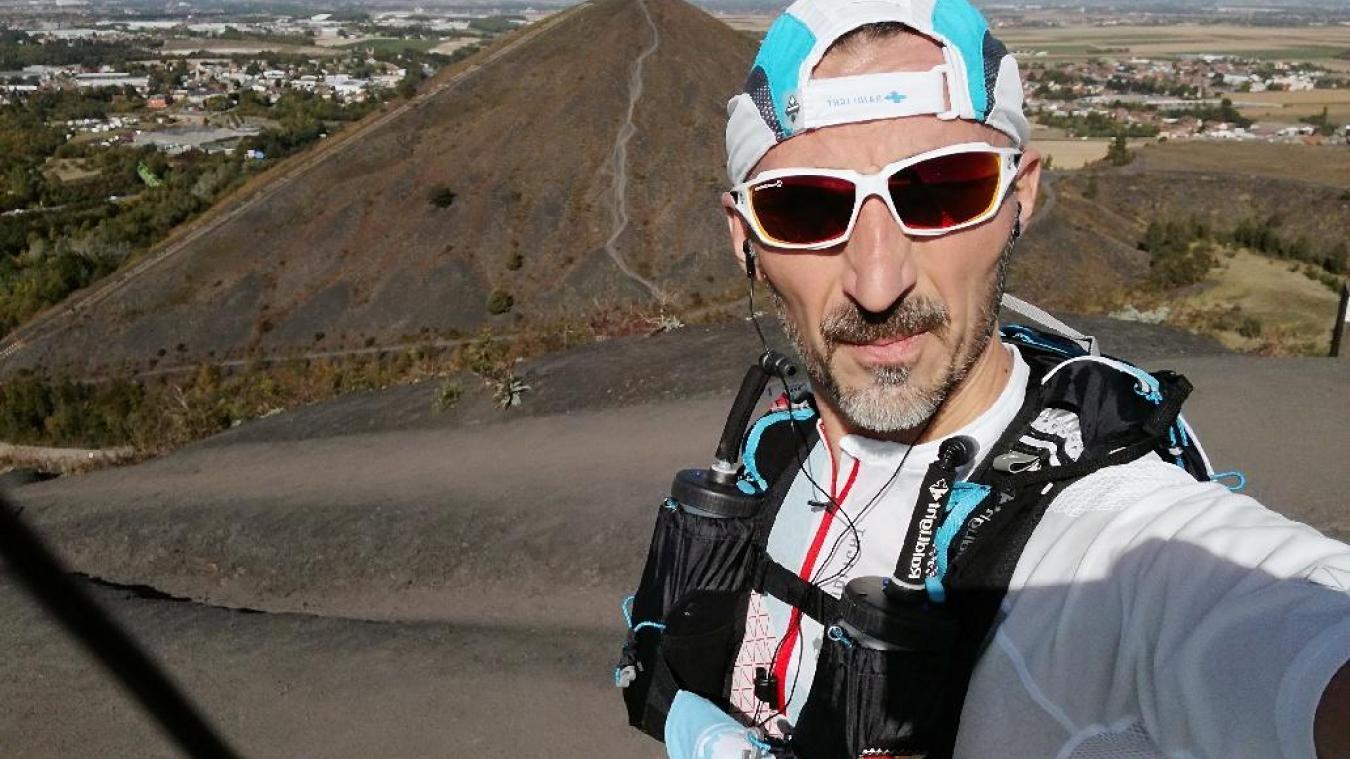Fabrice Dhedin va courir les 80 km du trail nocturne à la veille de ses 48 ans.