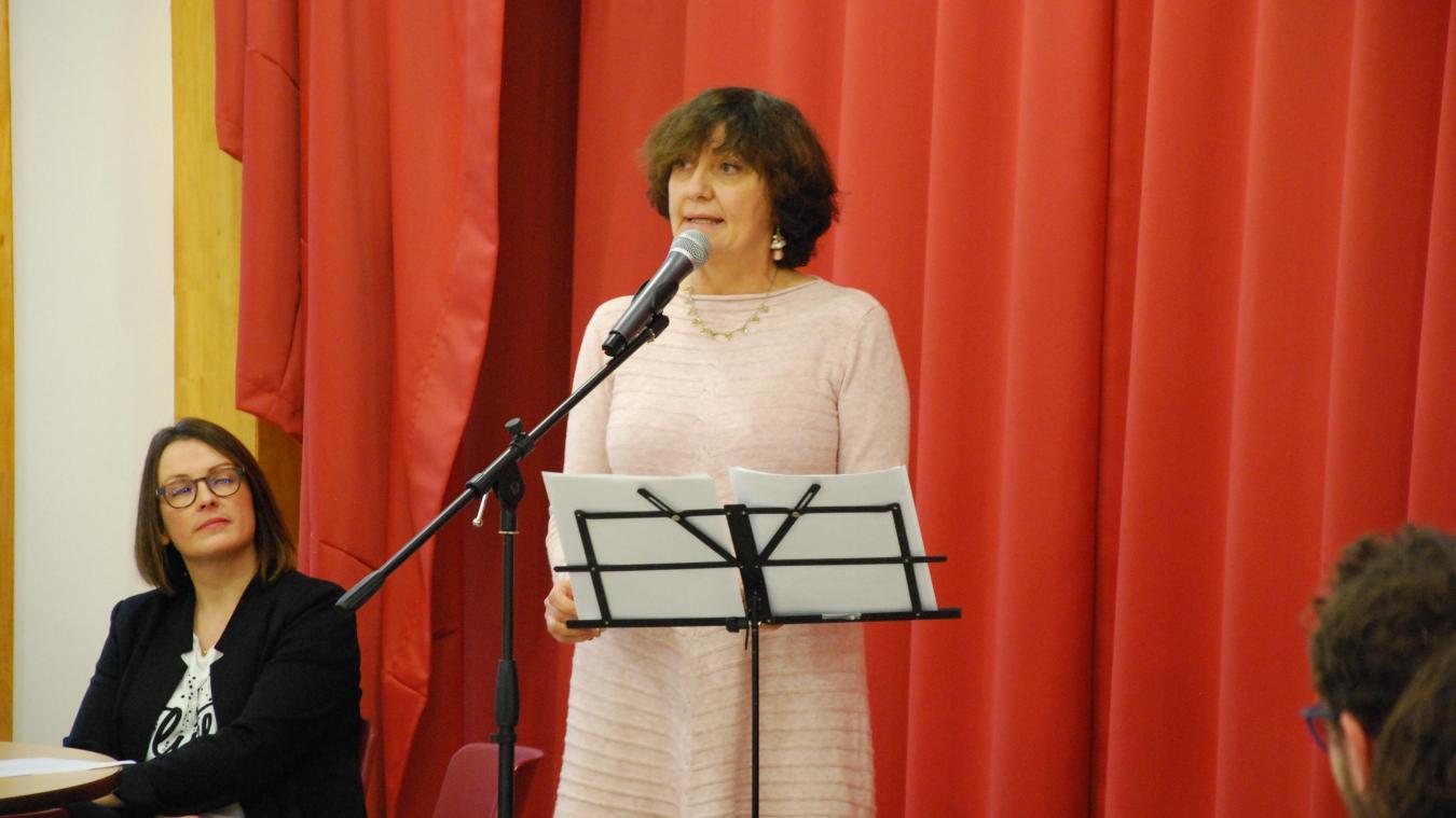 Danielle Mametz a été élue en 2000 après le décès du maire.