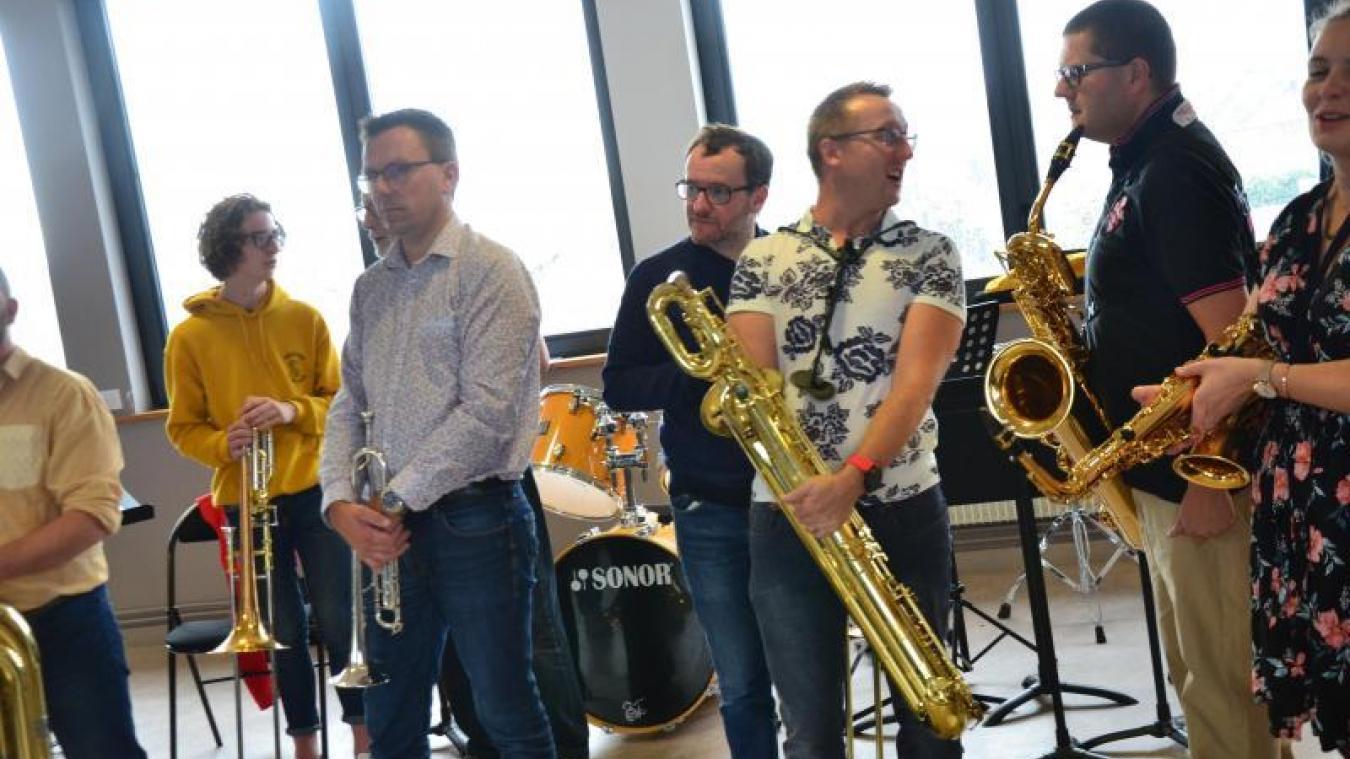 L'Union musicale sur scène à Espace Flandre