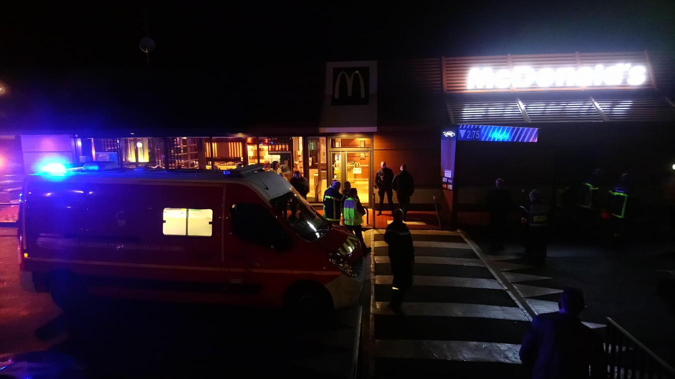 Le McDonald's de Fouquières-les-Béthune évacué dimanche 3 novembre en soirée