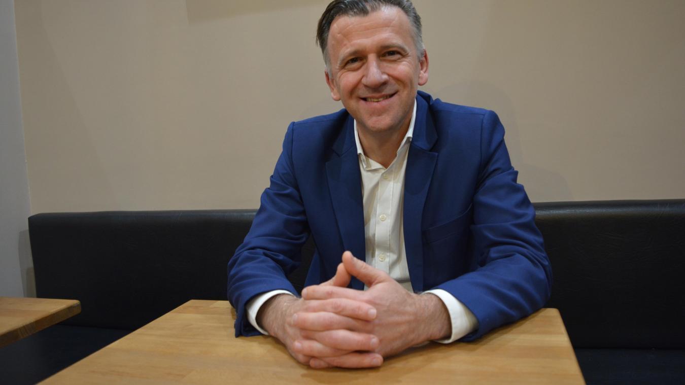 A 50 ans, l'entrepreneur Pierre Ducrocq est un nouveau visage de la politique locale.
