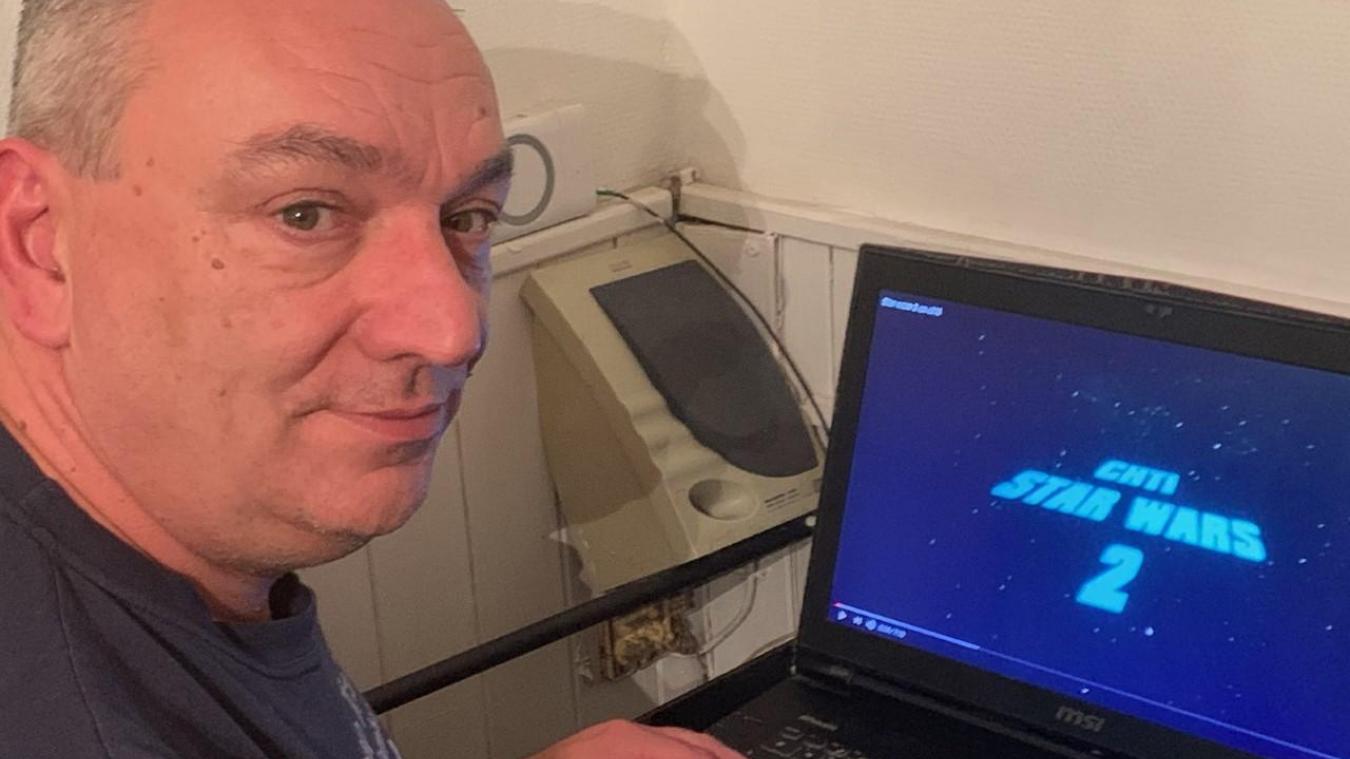 David Engrand, auteur d'une vidéo culte et virale sur Star Wars