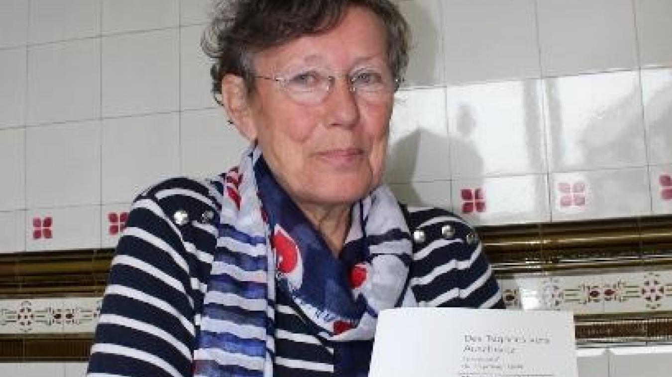 Monique Heddebaut anime une conférence à la Coupole ce samedi 9 novembre.