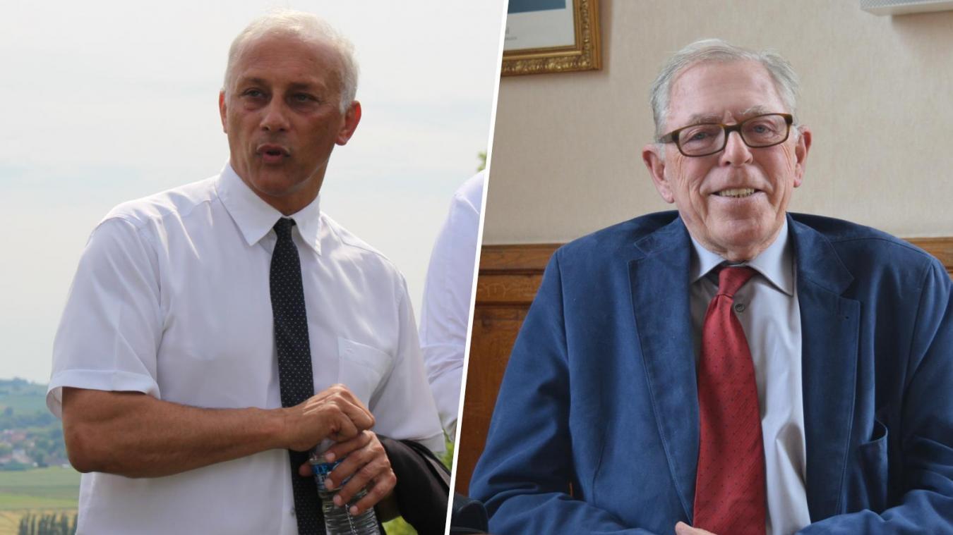 Bernard Cailliau à gauche, et Serge Janquin à droite, sont tous les deux convoqués le 31 mars prochain devant le tribunal de Béthune.