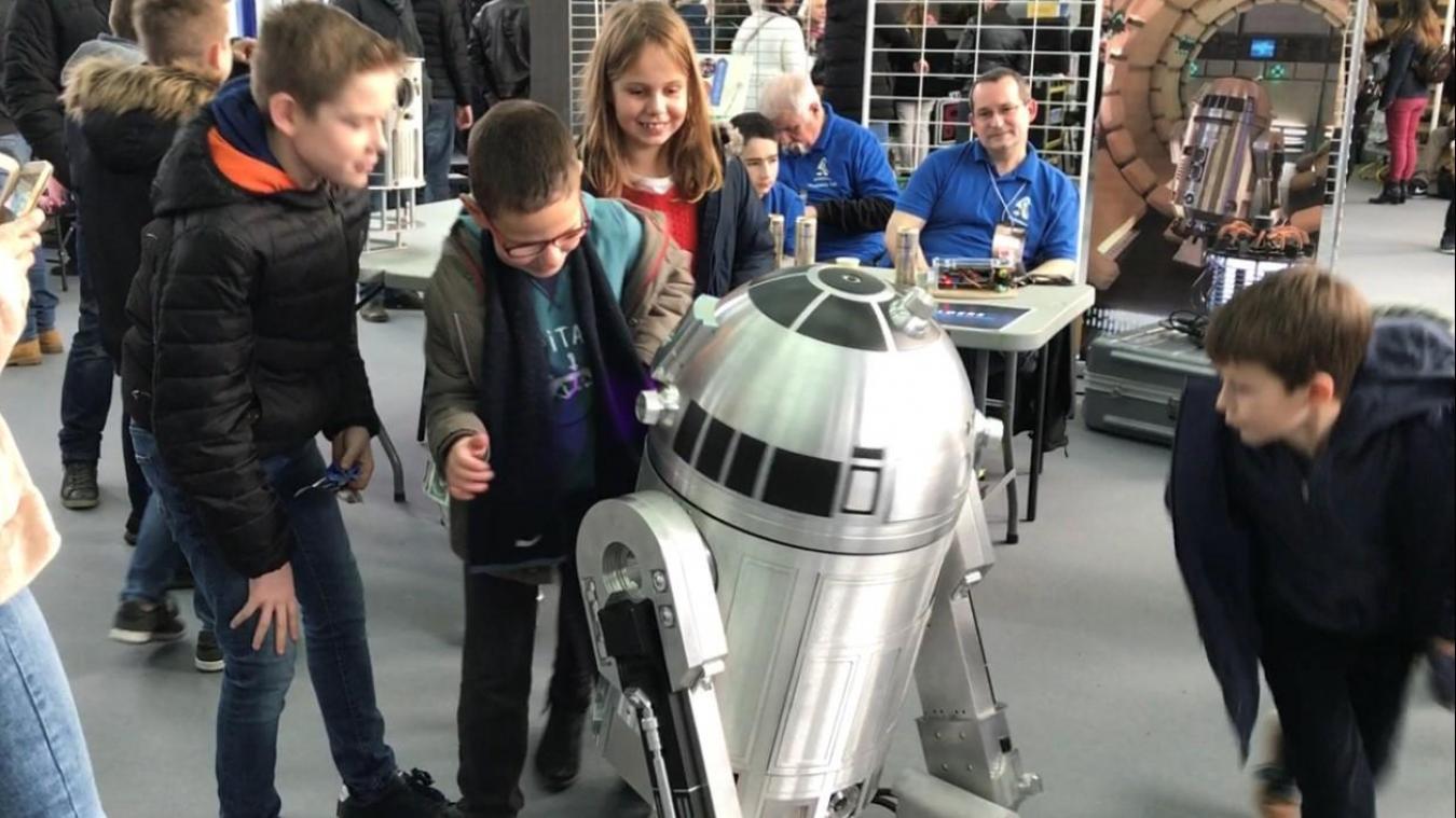 L'association R2Builders était présente en 2017 lors de la première exposition Ch'tar Wars, elle le sera de nouveau les 9, 10 et 11 novembre 2019.