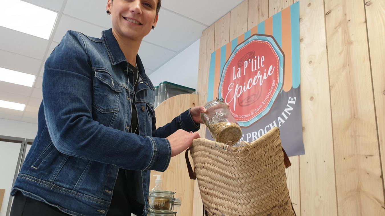 Dorothée va ouvrir une épicerie zéro déchet à Bucquoy